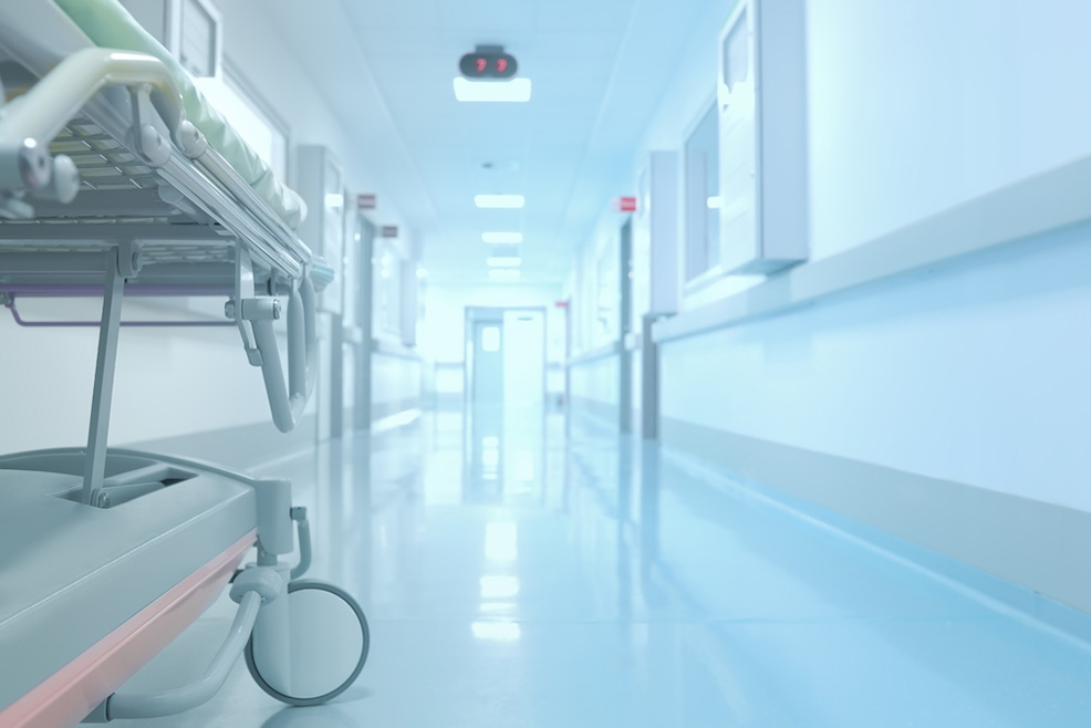 sơn sảnh bệnh viện