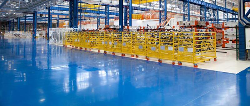 Sơn sàn công nghiệp theo tiêu chuẩn Châu Âu