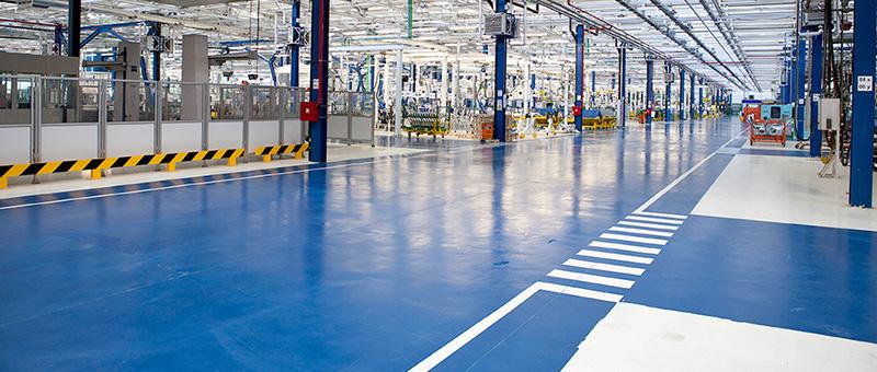 Phương pháp sơn nền nhà xưởng công nghiệp